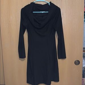 Maurices Black Cowl Neck Dress